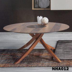 طاولة قهوة تحفة فنية موديل فلوريدا صناعة خشبية