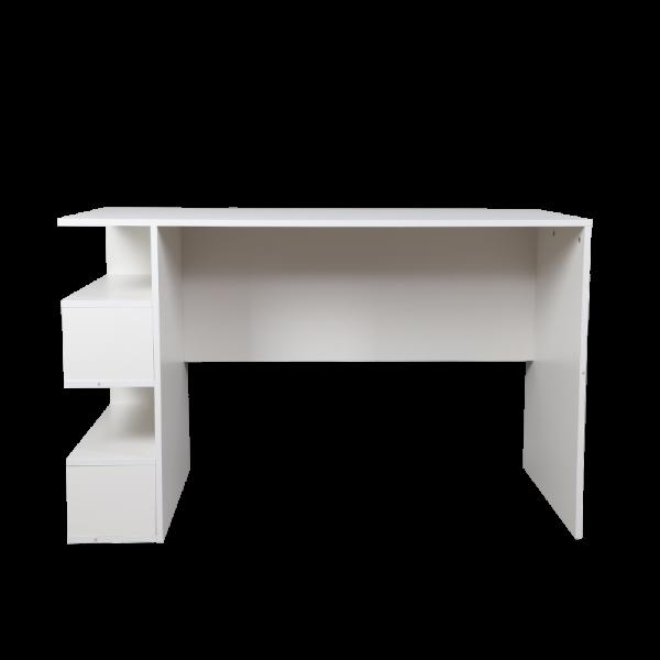 مكتب عمل موديل ليمبر لون أبيض صناعة خشبية