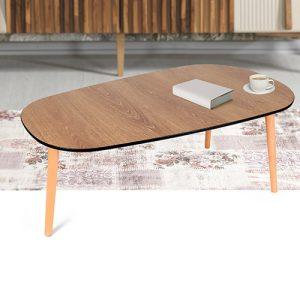 ديكور جميل لطاولة قهوة خشبية