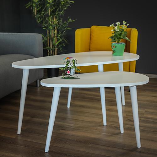 طاولات قهوة خشبية