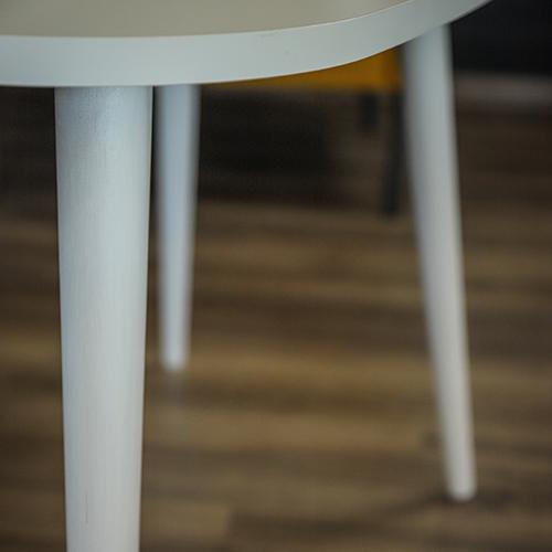 طاولة القهوة موديل أتايا أبيض