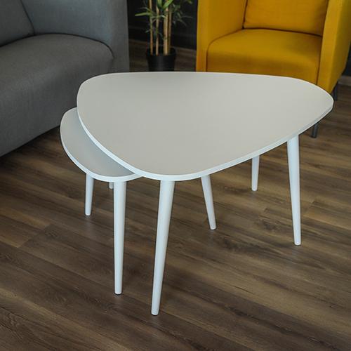 خشب زان لطاولة قهوة
