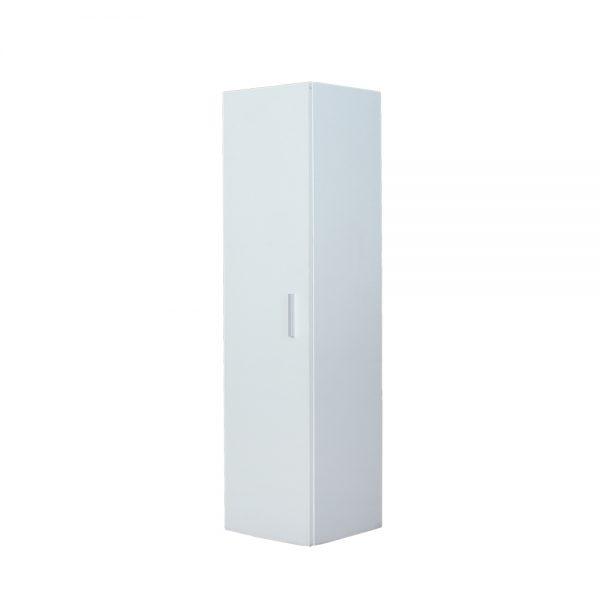 منظم تواليت موديل سيرينا بباب وثلاثة أرفف داخلية لون أبيض