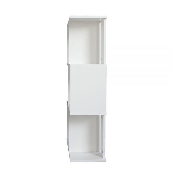 صورة جانبية لخزانة مفتوحة للكتب