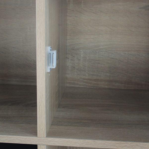 وحدات تخزين خزانة خشبية