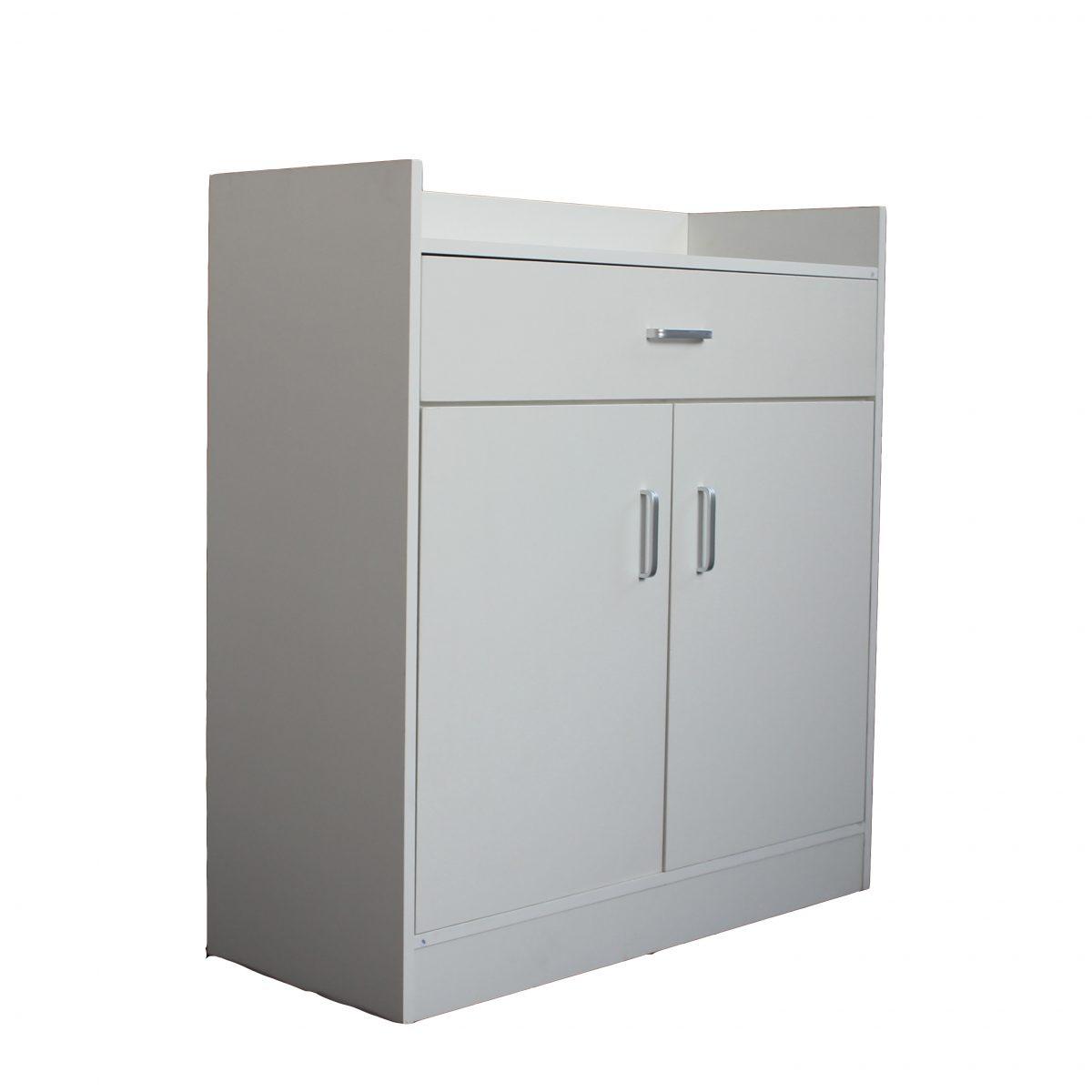 صورة جانبية لخزانة
