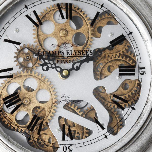 تروس وعقارب ساعة شكل دائري