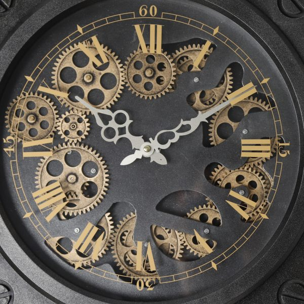 عقارب ساعة لون أسود