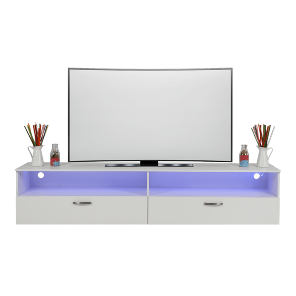 طاولة تلفاز موديل اينمور إضاءة ليد